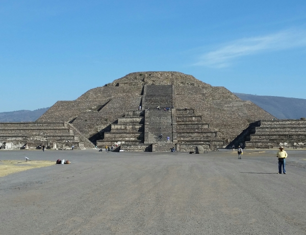 Pyramid of th Moon - Teotihican, Mexico