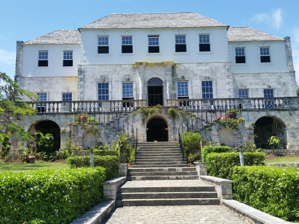 Haunted Rose Hall Great House in Montego Bay, Jamaica