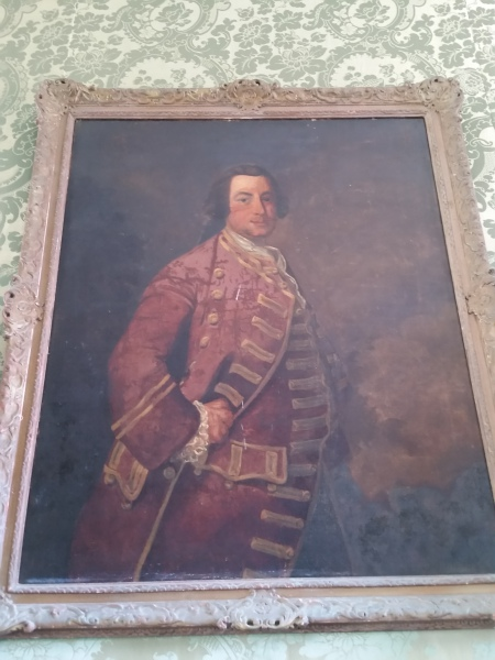 Original Painting of Louis XIV of France at Rose Hall Great House