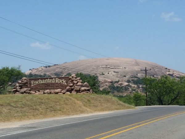 Enchanted Rock in the Hill Country of Texas