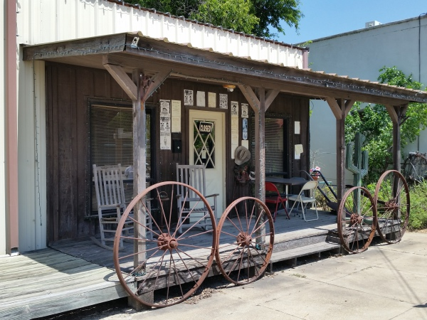 """Billy the Kid"" Memorial Museum - HIco, Texas"