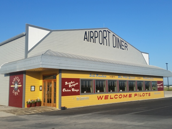 Airport Diner at the Hangar Hotel