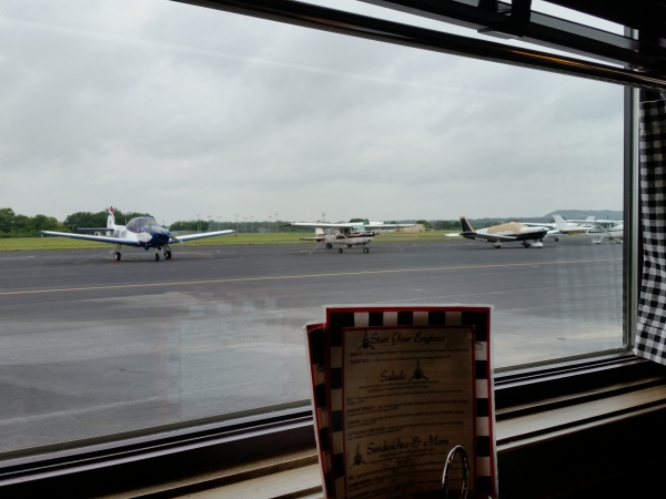 View from the Airport Diner